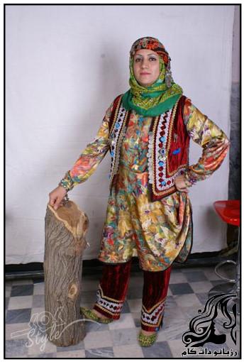 راهنمای دوخت لباس محلي زنان لرستاني