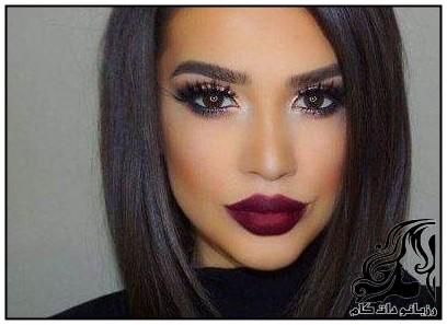 نمونه های آرایش صورت زنانه و دخترانه 96 -2017