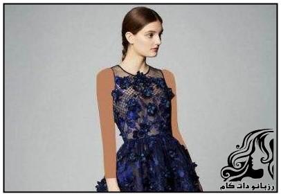 نمونه های شیک لباس مجلسی برند Marchesa