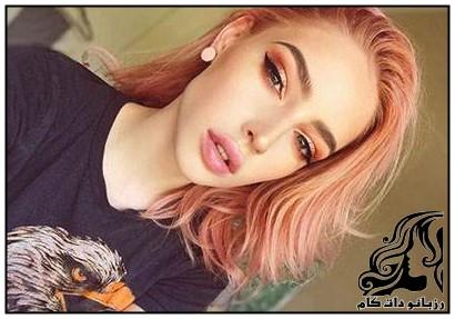 زیباترین رنگ و مدل موی زنانه سال 2017