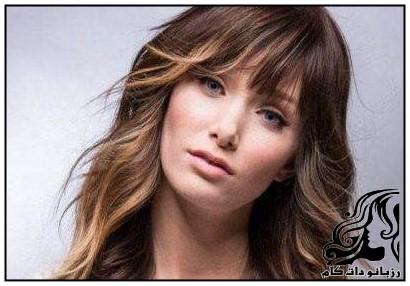 نمونه های جدید موی زنانه بلند و کوتاه 2017