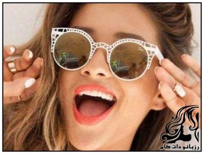 نمونه های جدید و برند عینک آفتاب زنانه