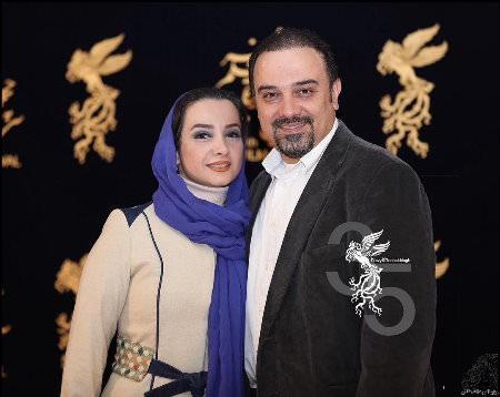 زیباترین تصاویر هنرمندان ایرانی و همسرانشان