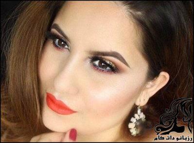 آرایش شیک مجلسی از Astrid Lam
