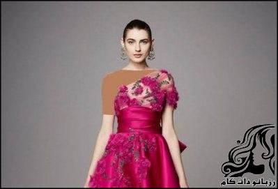نمونه های لباس مجلسی برند Marchesa