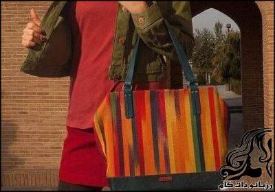 نمونه های زیبای کیف های ایرانی SAZAD STYLE