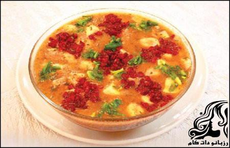 طرز تهیه سوپ زرشک