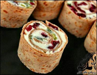 آموزش تهیه رولت پنیری