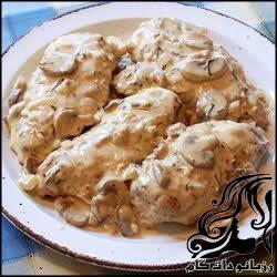 طرز تهیه کوفته مرغ با سس قارچ