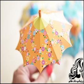 آموزش تصویری درست کردن چتر تزیینی