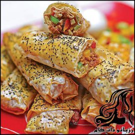 طرز تهیه بورک با خمیر یوفکا
