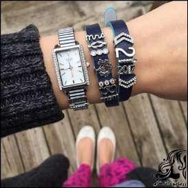 ساعت و دستبند ست