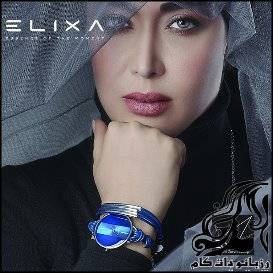 سارا منجزی در تبلیغات Elixa