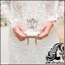 نمونه های جای حلقه های ازدواج