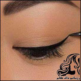 خط چشم برای مدل های مختلف چشم