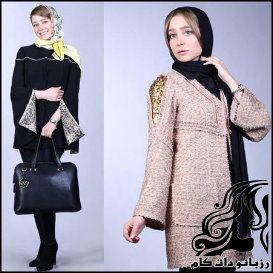 مدل مانتو و پالتو از الناز حبیبی