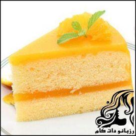 طرز تهیه کیک شیفون با رویه پرتقالی