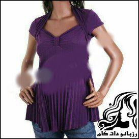 آموزش دوخت بلوز بارداری