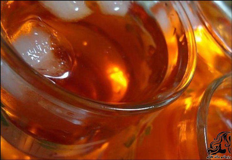 طرز تهیه شربت زعفران