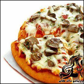 طرز تهیه پیتزا قارچ