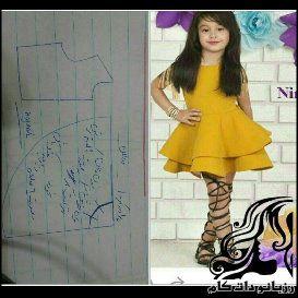 الگوهای رایگان دوخت لباس کودک