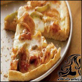 طرز تهیه پیتزا فاهیتا مرغ