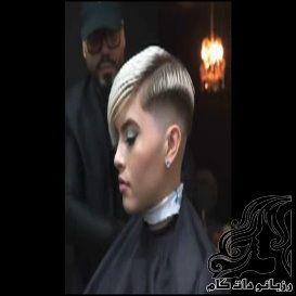 فیلم اصلاح مدل خوشکل موی زنانه