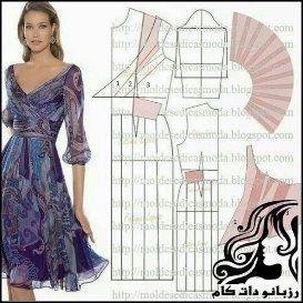 چند مدل لباس به همراه الگو