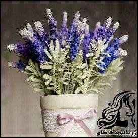 آموزش ساخت گل فومی لاوندر