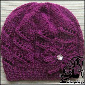 آموزش بافت کلاه دخترانه دومیل