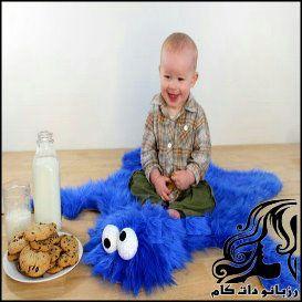 زیر انداز کودک هیولا کوکی