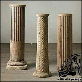 آموزش ساخت ستون های سنگی تاریخی