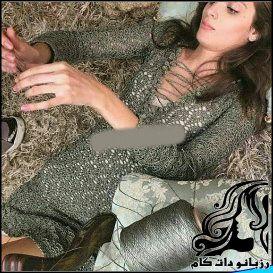 آموزش قلاب بافی پیراهن زنانه(2)