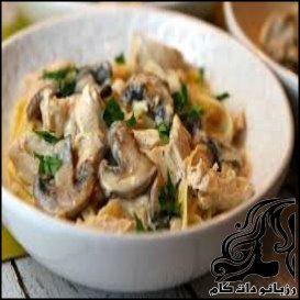 طرز تهیه خورشت قارچ و مرغ