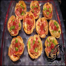طرز تهیه پیتزا قالبی