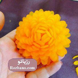 ساخت گل کریستالی داوودی