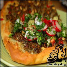 طرز تهیه پیتزای ترکی