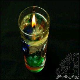 آموزش ساخت شمع مایع