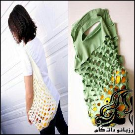 تبدیل لباس به ساک خرید زیبا