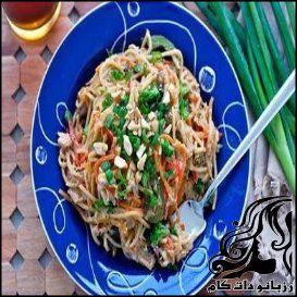 طرز تهیه اسپاگتی تره فرنگی