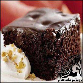 طرز تهیه کیک خیس