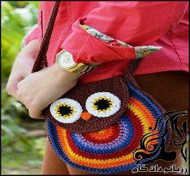 آموزش بافت کیف دخترانه