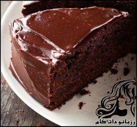 طرز تهیه کیک شکلاتی بی بی