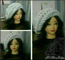 آموزش بافت کلاه گس بافت زنانه