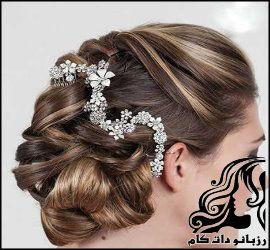 مدل های جدید شینیون موی عروس
