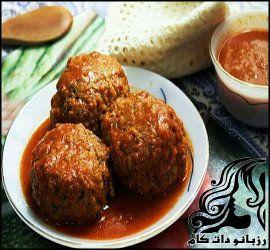 کوفته شیرین کرمانشاهی
