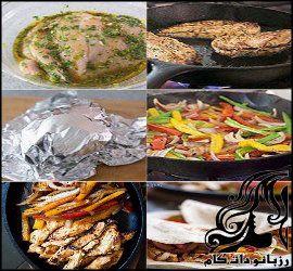 طرز تهیه فاجیتای مرغ(فاخیتا)