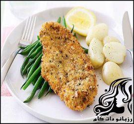 طرز تهیه شنیسل سوخاری