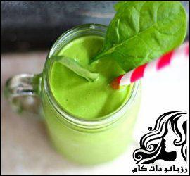طرز تهیه اسموتی چای سبز