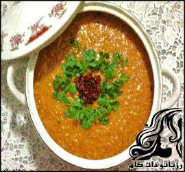 طرز تهیه دال عدس بوشهری